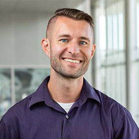 Meet Nathan Mugg, Lead Creative Designer and Webmaster for the Division of Student Affairs