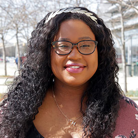 Meet Division of Student Affairs staff member Harrianna Thompson.